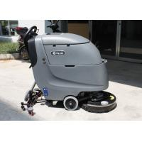 Dycon Battery Powered Floor Scrubber Walk Automatically Gray Color Floor Cleaner Manufactures