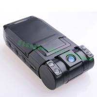 Dual Lens car video camera recorder/night vision vehicle DVR/car black box X1000 Manufactures