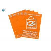 Orange Poly Mailers Mailer Bags with Dual Seals glue Manufactures