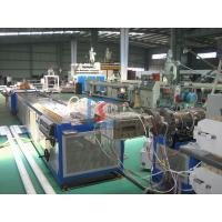WPC Door Products Line Wood Plastic Extrusion Line With Pest Resistant Manufactures