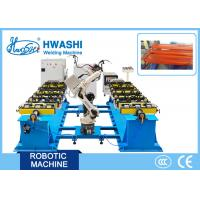China 6- Axis Industrial Robotic Welding Machine , Iron Storage Rack Automatic Mig Welder on sale