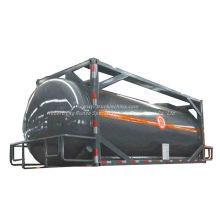 Chemline Lined Tank Customized Swap Body (ISOTANK) for Transport Strongly Acidic Hydrochloric Acid, Sodium Hypochlorite (HCl, NaOH, NaCLO, HF, H3PO4)
