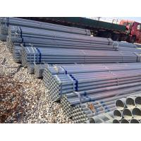 1.2mm~30mm Hot Galvanized Steel Pipe For Mirror  Double Wall Manufactures