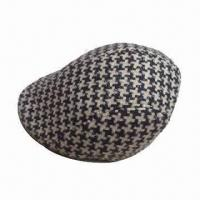 Fashion Men's Hat, Made of Polyester and Sponge, OEM Orders are Welcome Manufactures