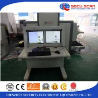 Dual View Airport Xray Machine For Heavy Baggage , Security X Ray Machine