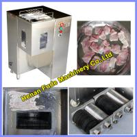 China fresh meat cutter, meat slicer, cubic meat cutting machine on sale
