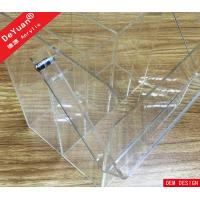 Custom Acrylic Carrier Four Dividers With Handle Plexiglass Box Manufactures