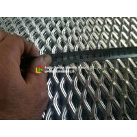 Low Carbon Galvanized Expanded Metal MeshDiamond Shape Hole For Wall Construction for sale
