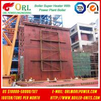 10T - 1000 Ton CFB Boiler Petrochemical Biomass Industry Superheater Coils High / Low Pressure Manufactures