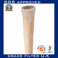 Nomex Needled Felt Dust Collector Filter Bags / Water Filtration Bag 2 Micron Manufactures