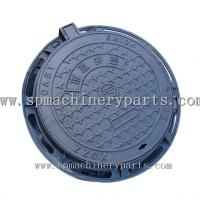 China Factory Direct Selling EN124 Ductile Iron Sand Casting Manhole Cover Make In China on sale