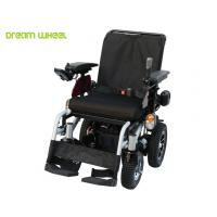 4Km - 12Km / H Handicap Carts Outdoor Four Wheel Drive Wheelchair With Recline Seat