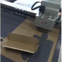 cnc cutitng table cardboard cutting folding machine