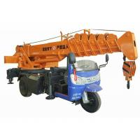 Small Tricycle Mobile Truck Mounted Hydraulic Crane 3- 5 Ton For Construction Manufactures