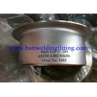 China Threaded Flanges Tube SS Stub End ASME B36.10M 1/8 Inch - 48 Inch on sale