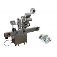 China 1000mm×450mm size flat bags Automatic Flat Surface Label Applicator for top side wholesale