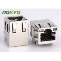 Tab up 100Mb RJ45 with integrated magnetics modular jack for ethernet devices Manufactures