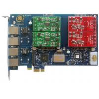 Buy cheap AEX410 4Port Asterisk Card with 2FXO&2FXS PCI Express Card from wholesalers