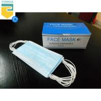 Buy cheap Anti Electrostatic Disposable Surgical Masks Non - Allergic Environment Friendly from wholesalers