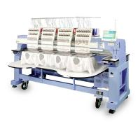Cap And T - Shirt Multi Head Embroidery Machine Computer Controlled Highly Precision Manufactures
