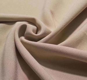 4 way stretch single side crepe lycra dress fabric 92/8 polyester lycra stretch one side brushed fleece design garment f Manufactures