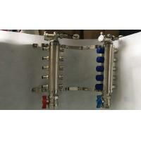 Customized Sliver Color  Brass Water Ufh Manifold Long Lifespan Manufactures