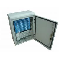 China Telecommunication Networks Fiber Optic Cabinet Outdoor Wall / Pole Mounted IP65 on sale
