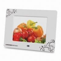 Digital Photo Frame with 800 x 600 Pixels High Resolution and Built-in 256MB Flash Memory Manufactures