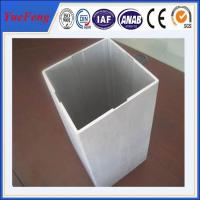 Extruded Aluminum Square Tube from China trustworthy Manufacturer Manufactures