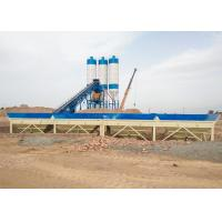 60m3/h belt type sand cement mixing machine automatic concrete batching plant italy Manufactures
