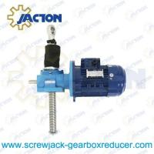 China electric worm gear screw jack wholesale