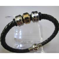 Fashion Jewellery Genuine Leather Bracelet with Magnetic Clasp Manufactures