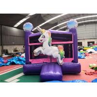 High Strength Kids Castle Jump House For Garden Double Suture Technology Manufactures