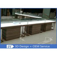 One Stop Service Modern Jewellery Shop Furniture With Lighting Manufactures