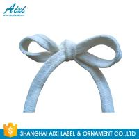 Polyester Woven Tape Cotton Webbing Straps For Garment / Bags Manufactures