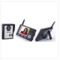 China Wireless video door phone with 2.4GHz digital hopping technology for home security on sale