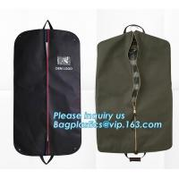 China Eco-friendly garment bag, suit bags, clothes bags, Most popular non woven bags for shopping, Customized Environmental pr on sale