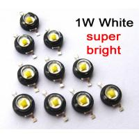China 120 Degree viewing Angle 1 watt power Led chip Diode With 140-150lm luminous on sale