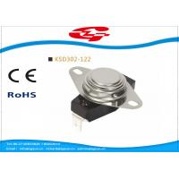 UL VED approval 3/4' Bimetal Snap Disc Thermostat KSD302-122 for home Appliances Manufactures