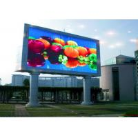 Custom IP68 SMD 3 In 1 P10 Outdoor LED Billboard Panel For Railways / Airports Manufactures