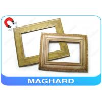 Unusual Gold Plated Fridge Magnet Photo Frames 10 x 8 / Home Decoration Framing Manufactures