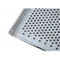 China Flat And Perforated Aluminium Baking Tray With Raised Edges 20mm Tray Height on sale