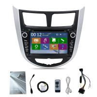 China 7 inch touch screen HYundai Verna Car stereo with GPS navigation radio audio bluetooth on sale