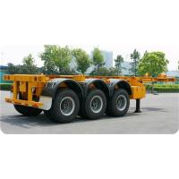 China 12400*2490*1400 Mm Second Hand Semi Trailers YORK Brand 3* 13 Tons Capacity on sale