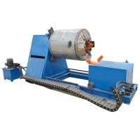 HG 505 Pipe Bending Machine , Steel Coil Decoiling Machine Color Hydraulic Decoiler Manufactures