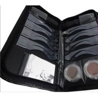 quick drawing OEM 8 moulds Eyebrow Stenciling Kit with Leather Case Manufactures