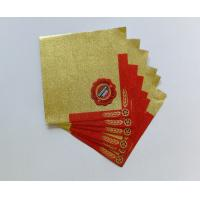 Professional Beer Neck Aluminum Foil Labels Water Proof Self Adhesive Manufactures