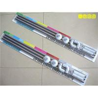 China Steel stainless shower curtain rods,bath curtain pole on sale
