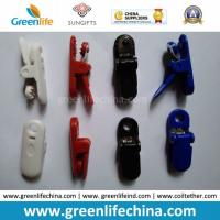 China High Quality Colored Fashionable Alligator Plastic Badge Clip Fasteners on sale
