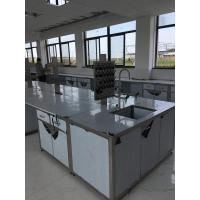 hot sell stainless lab furniture laboratory workbench stainless steel work table island bench 3000x1500x850mm Manufactures